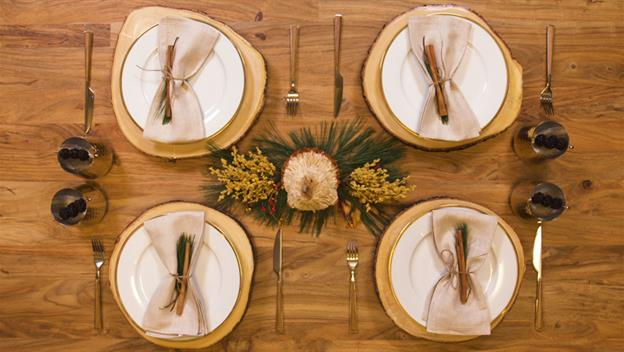 Rustic Thanksgiving Place Setting Inspiration